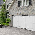 wide 2 car carriage house door