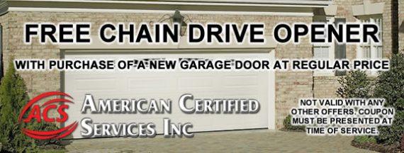 Free Chain Drive Opener Image